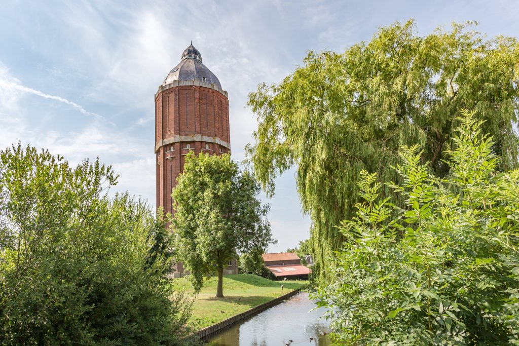 Watertoren in Hoogkarspel