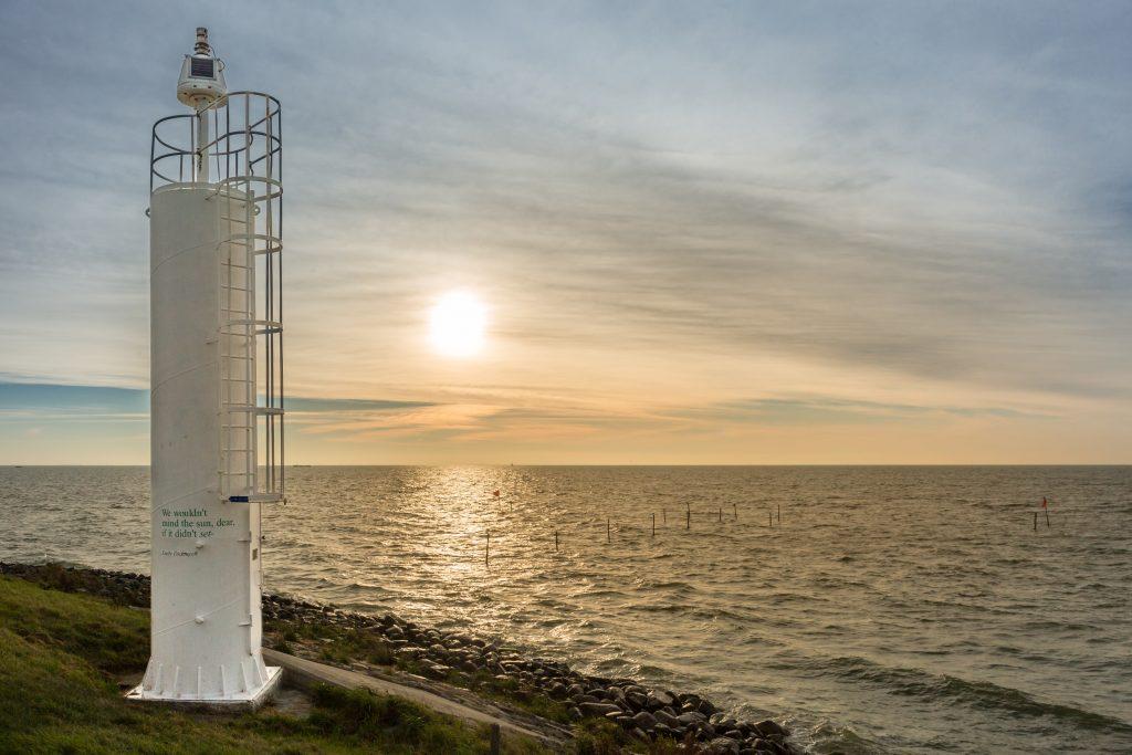 Het IJsselmeer bij Oosterleek