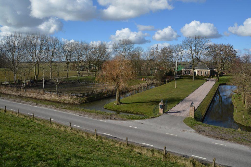 Overzichtsfoto boerderij in Wijdenes